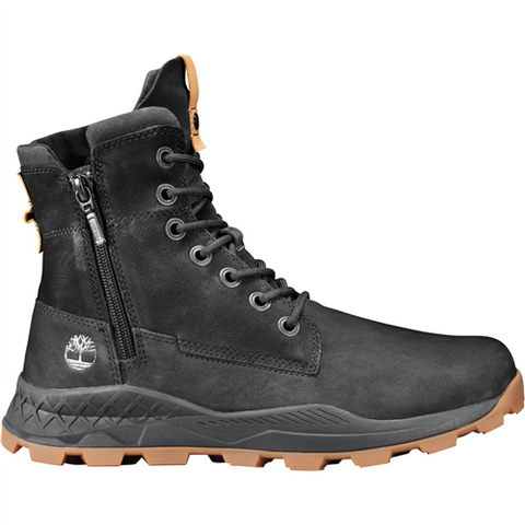 TIMBERLAND SIDE ZIP BOOT BLACK NUBUCK 0A228P