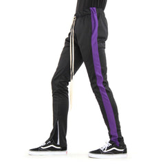 EPTM TRACK PANT BLK/PURP EP8449