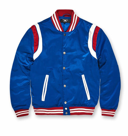f53e78f25c69 KIDS JORDAN CRAIG SATIN JACKET - ROYAL BLUE