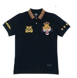 DAMATI POLO SHIRT BLACK