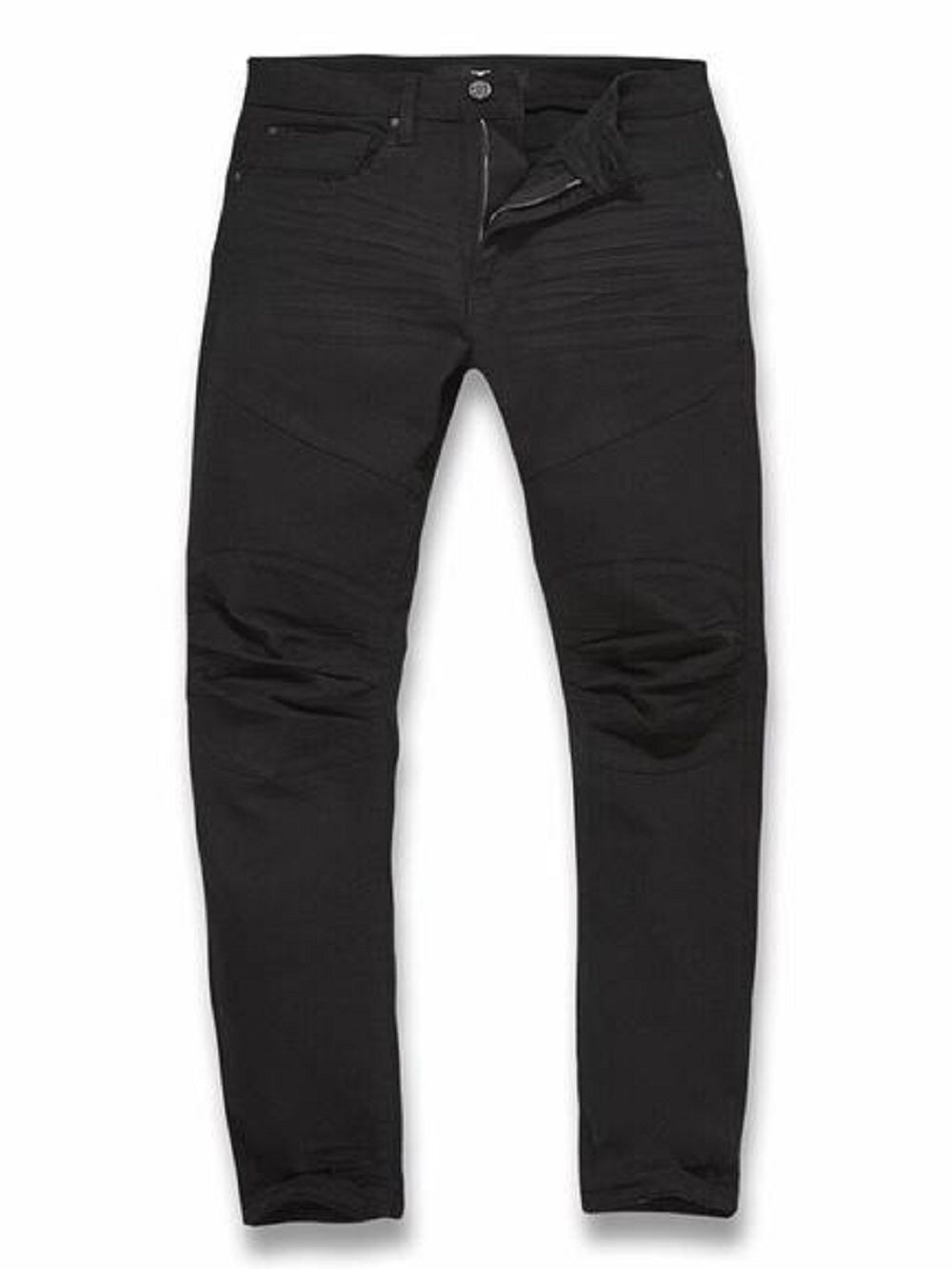 JORDAN CRAIG LEXINGTON MOTO DENIM - JET BLACK