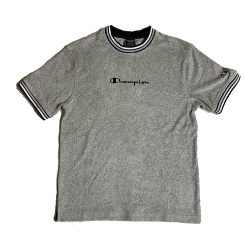 CHAMPION TERRY TOP GRAY T5083