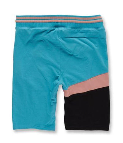 JORDAN CRAIG KNIT SHORT BLACK CORAL  8994S