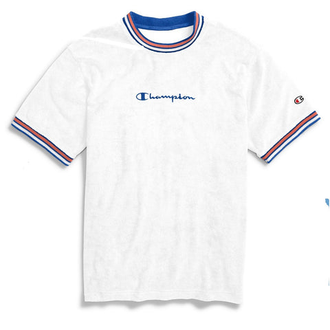 CHAMPION TERRY TOP WHITE T5083