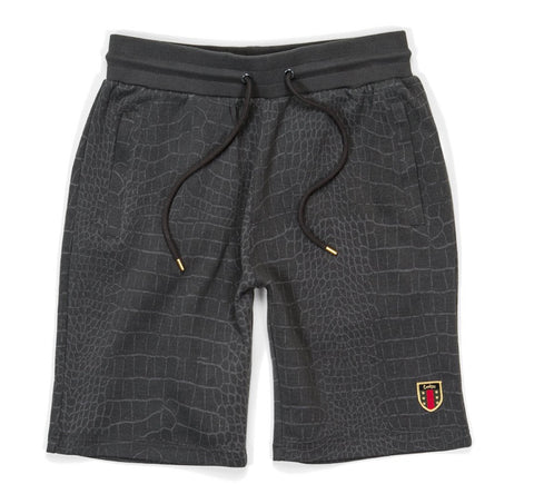 COOKIES SHORT EVERGLADE JAQUARDED GREY 1533T3112