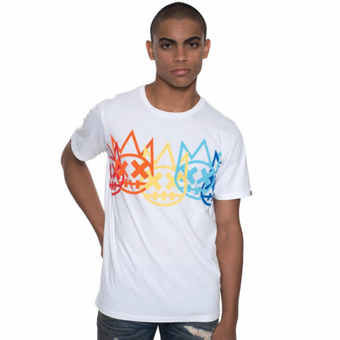 CULT OF INDIVIDUALITY T-SHIRT WHITE 69A3-K66A