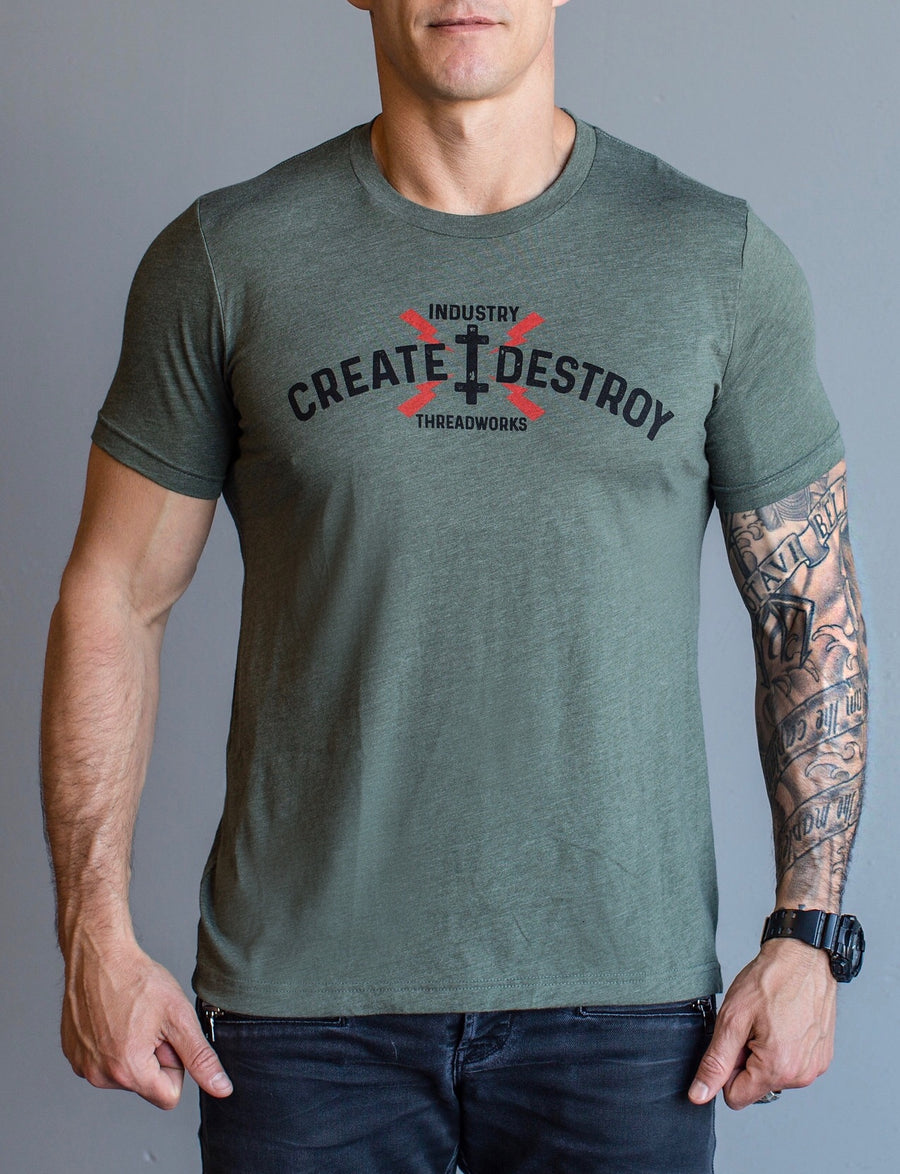 Create Lightning - Military Green
