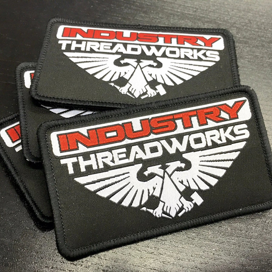 Industry Woven Patches - Velcro & Iron On