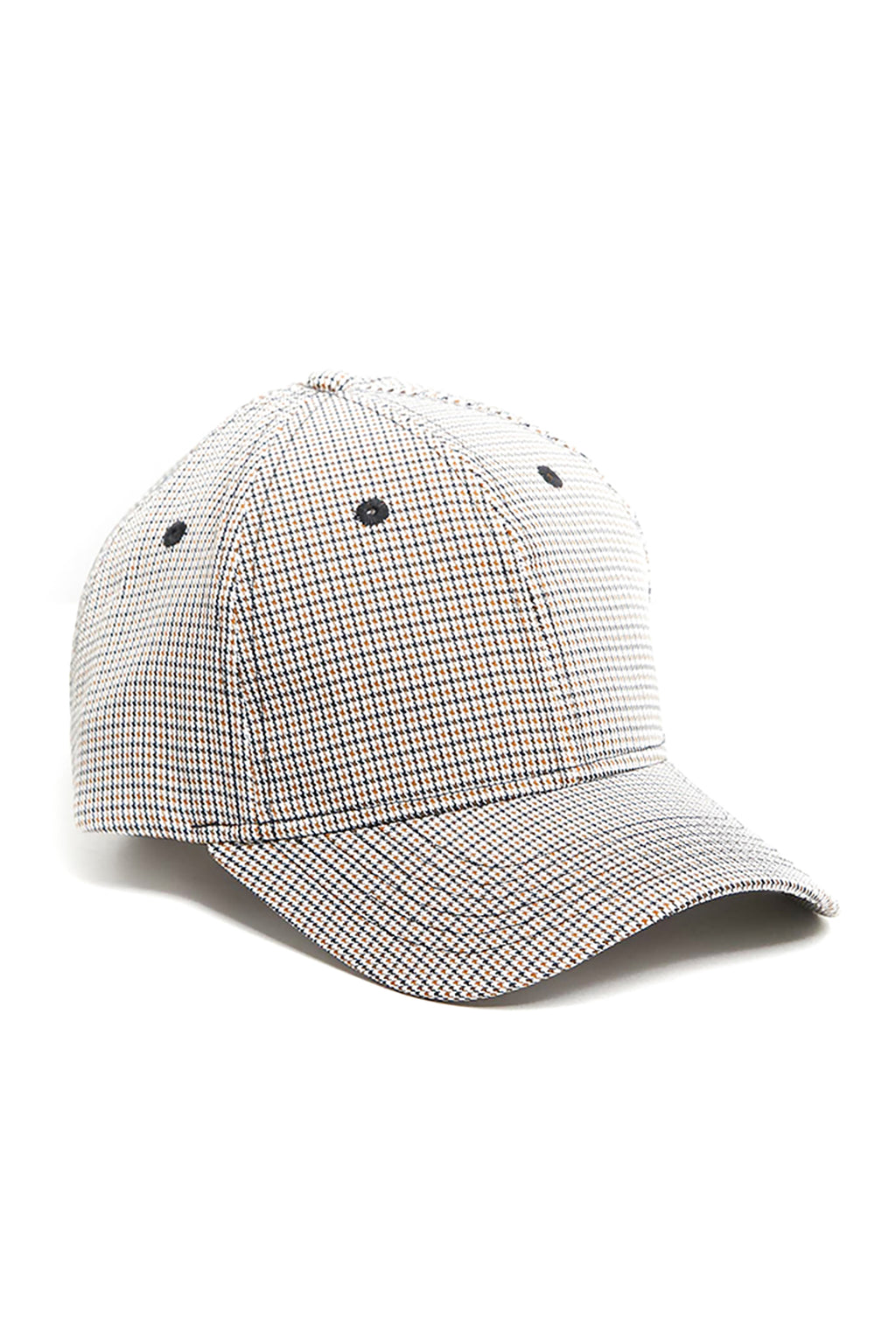 Plaid Cotton Cap