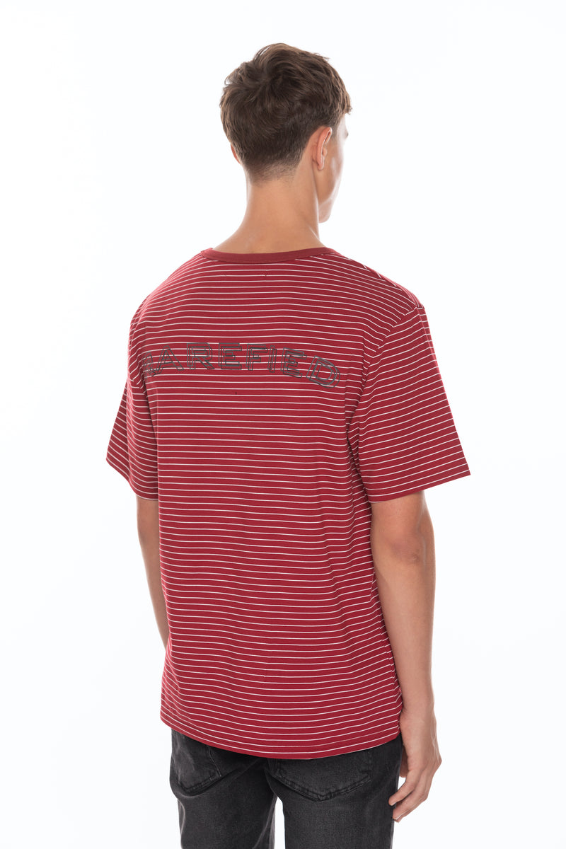 Stripe T-Shirt - Red/White