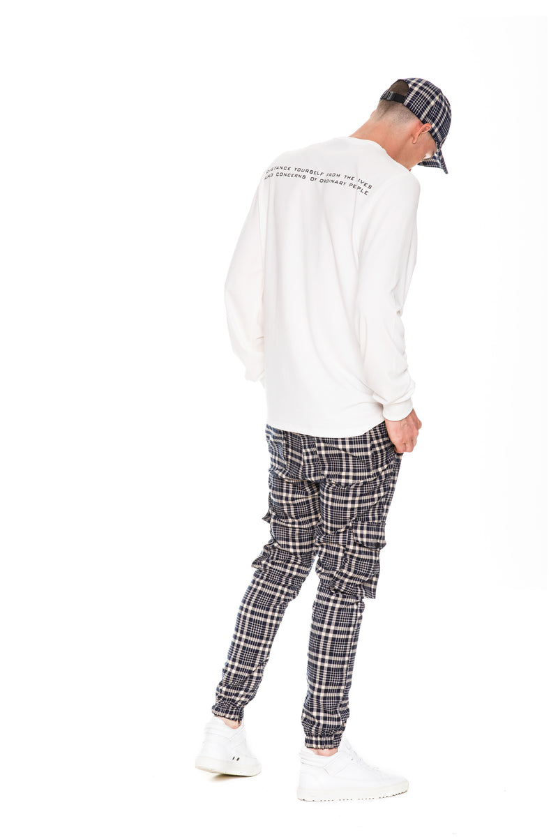 Rarefied Quote Long Sleeve T-Shirt With Rare Branded Pant, Cap and Shoes