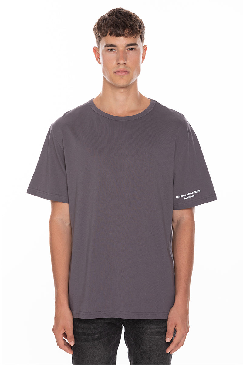 AID Signature T-Shirt - Dark Grey
