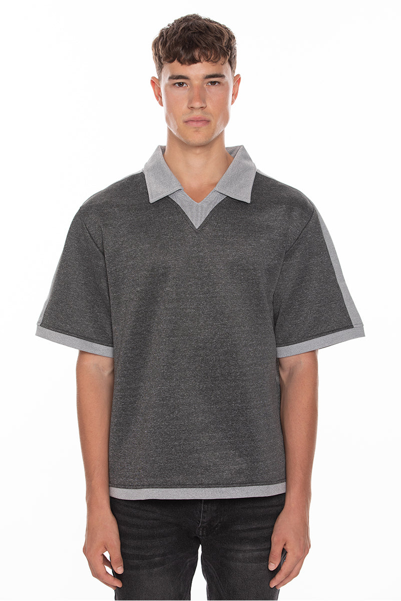 Polo T-Shirt - Grey
