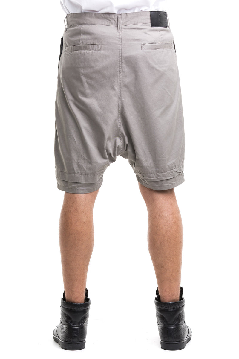 Grey  Rarefied Shorts - With Of Enforced Substantial Drop Crotch
