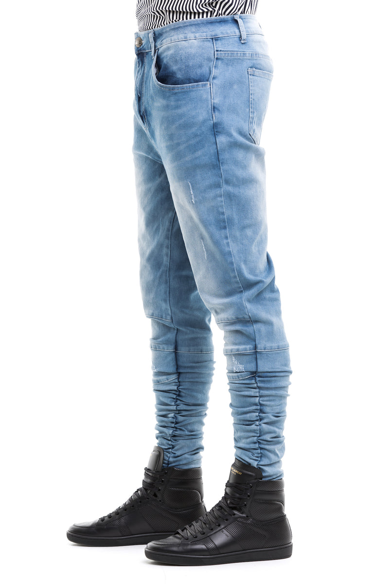 Blue  Ridge Jeans - Blue Ridge Jeans - Features YKK Zips And Custom Moulded Buttons