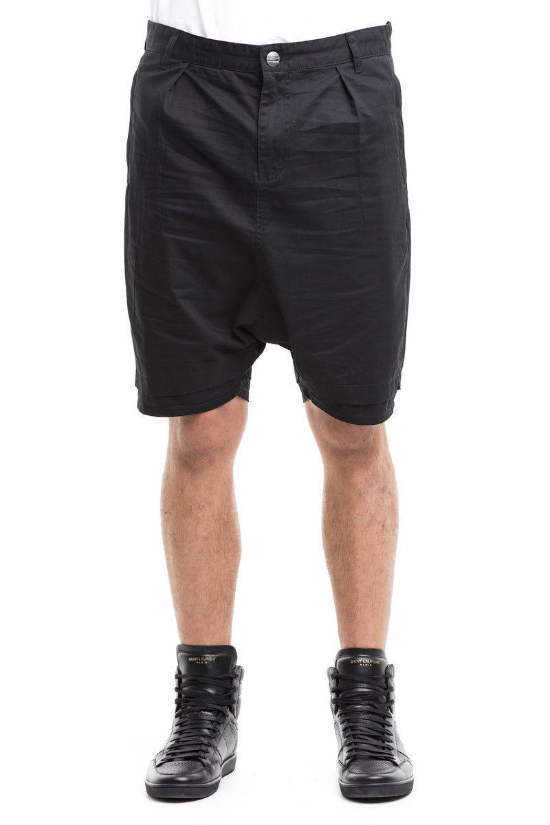 Black  Rarefied Shorts - Figured From 100% Cotton Twill Denim