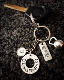 CrossFit Girl/ I am stronger than my excuses keychain
