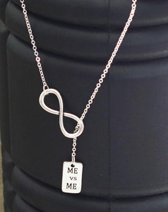 Infinity MEvsME necklace