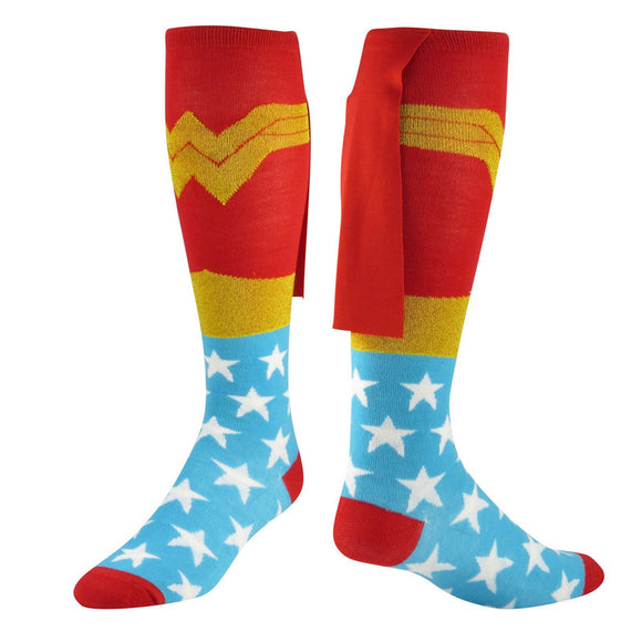 Wonder Woman Long Socks