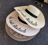 Do not Disturb Summer Hat