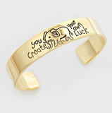 You Create your Own LUCK Bangle