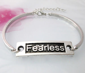 Fearless Antique Silver Bracelet