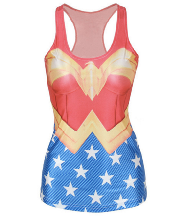 3D SUPERWOMAN Tank