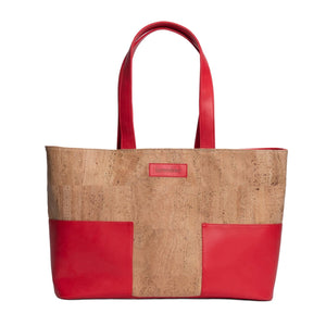 TOTE BAG red
