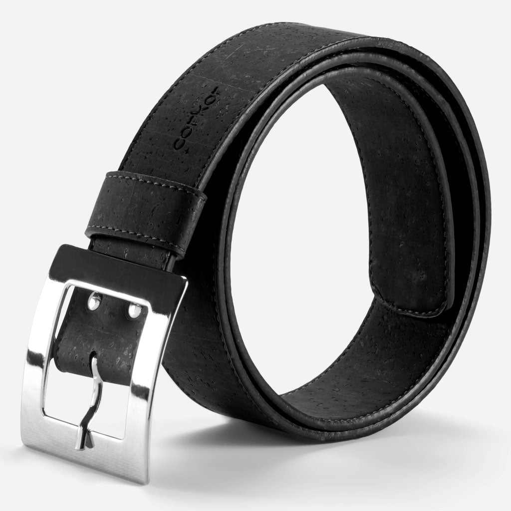 CORK BELT WOMEN 40MM Black