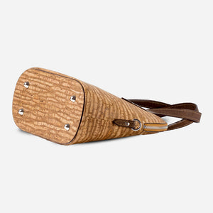 Cork Crossbody Purse Zebra