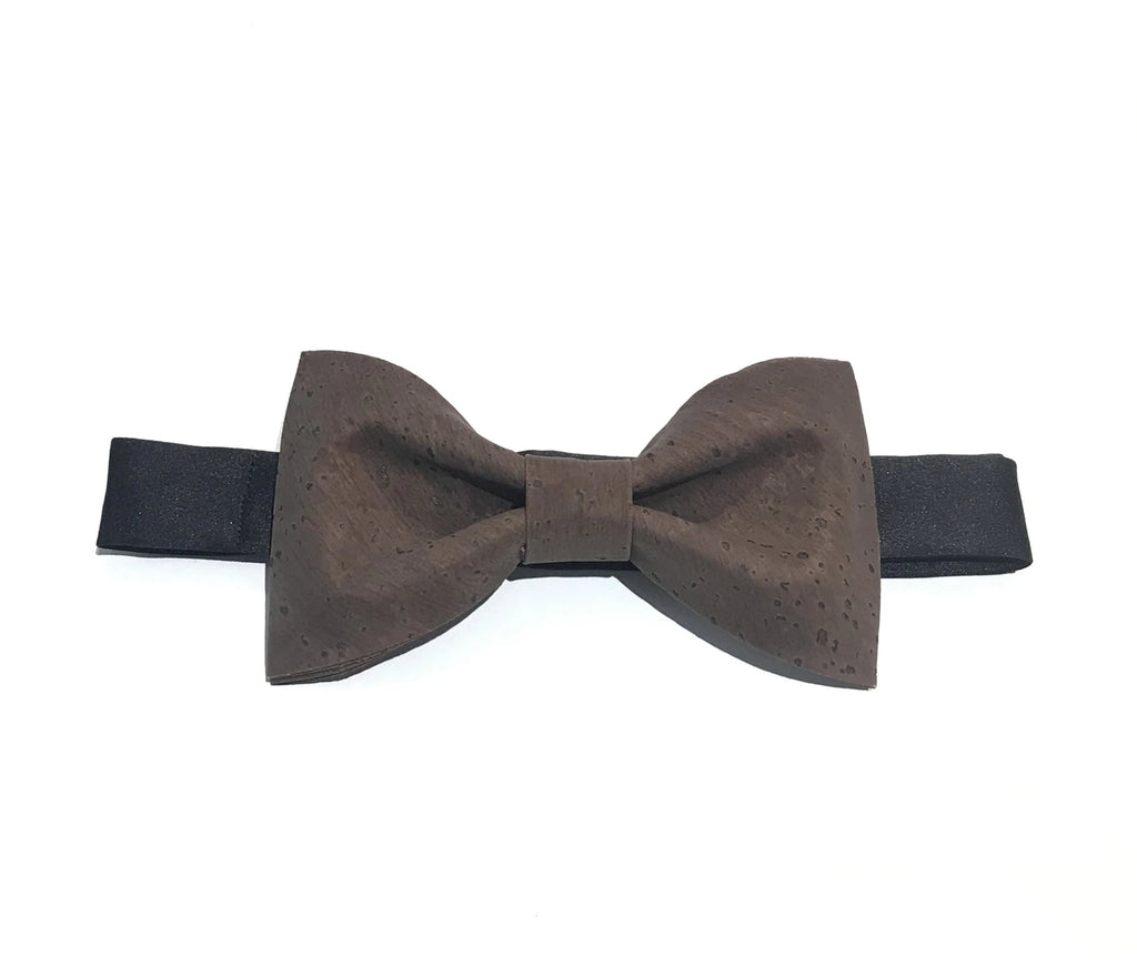 Cork Bow Tie Brown