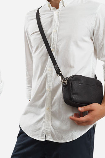 Unisex Crossbody Horizontal Black