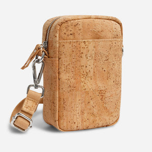 Unisex Crossbody Vertical Natural