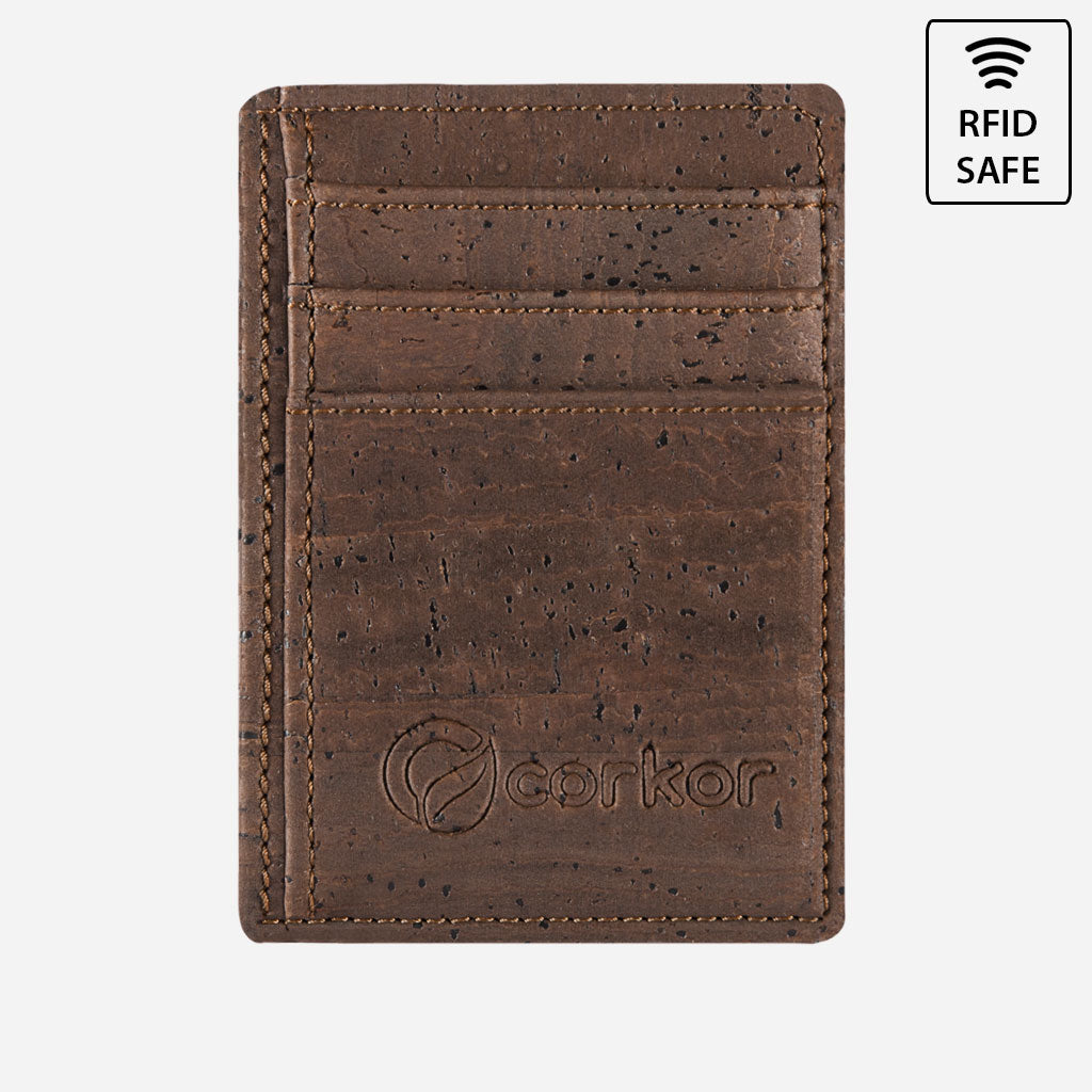 CARDS WALLET brown