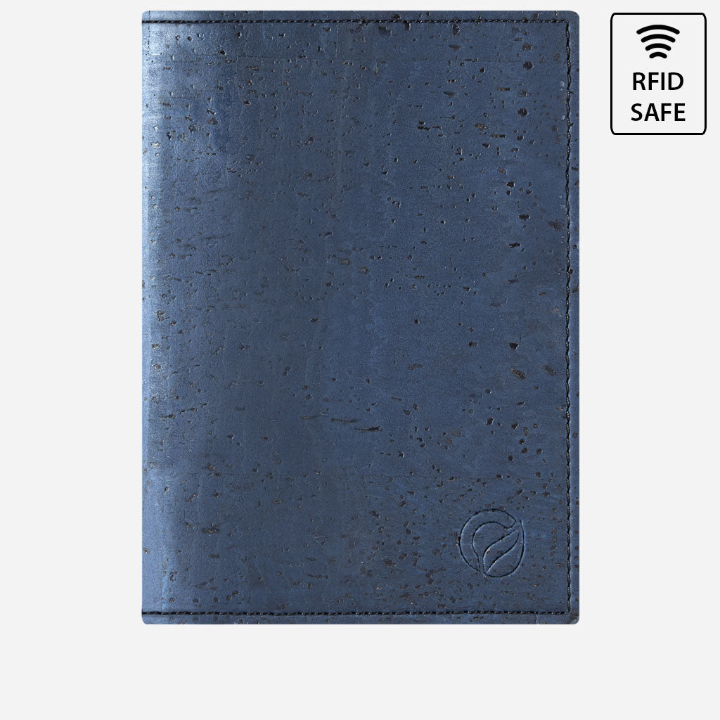 Passport Wallet Blue