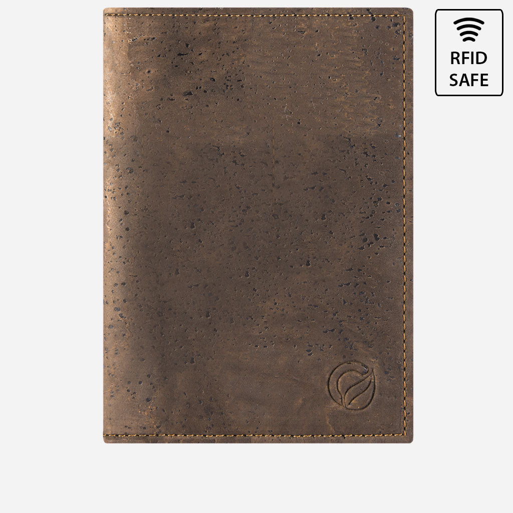Passport Wallet Brown