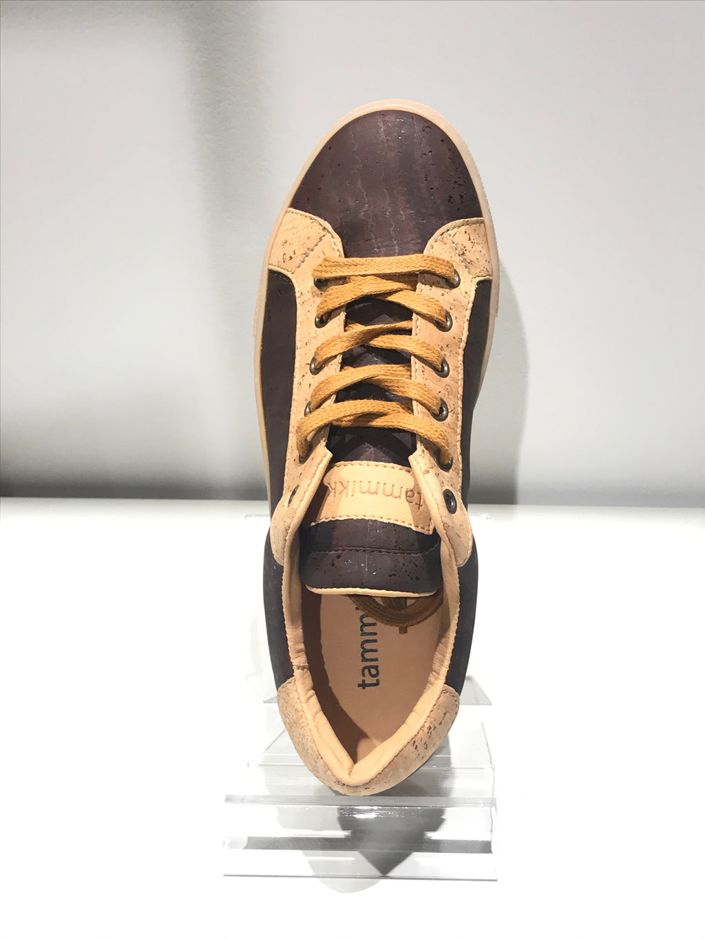 ROOTS cork sneakers brown