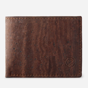 SLIM BIFOLD WALLET brown