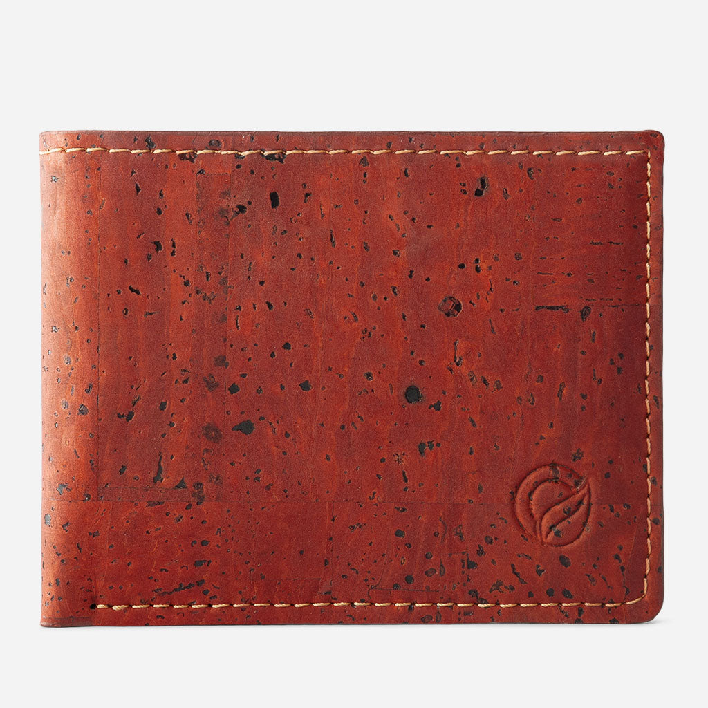 SLIM BIFOLD WALLET red