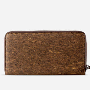 Women Cork Wallet Long Trunk