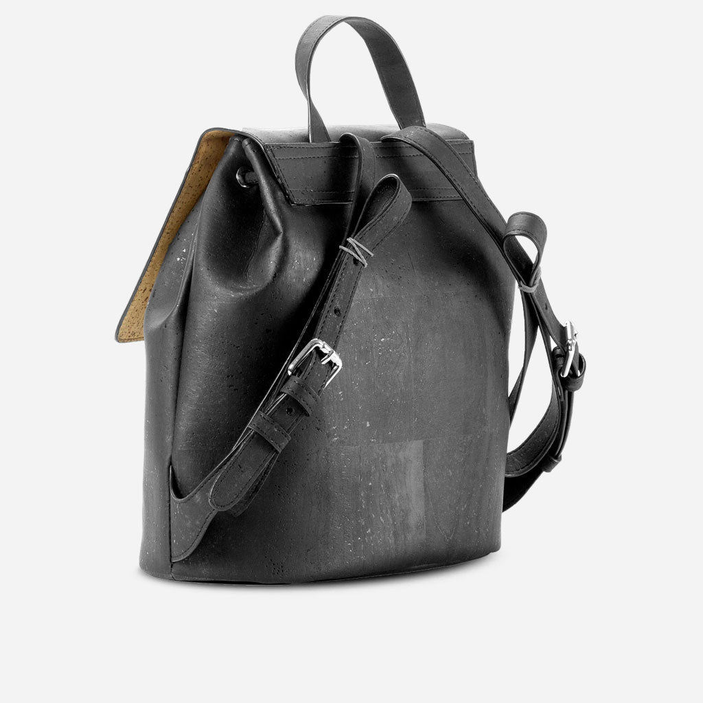 Cork Backpack Black