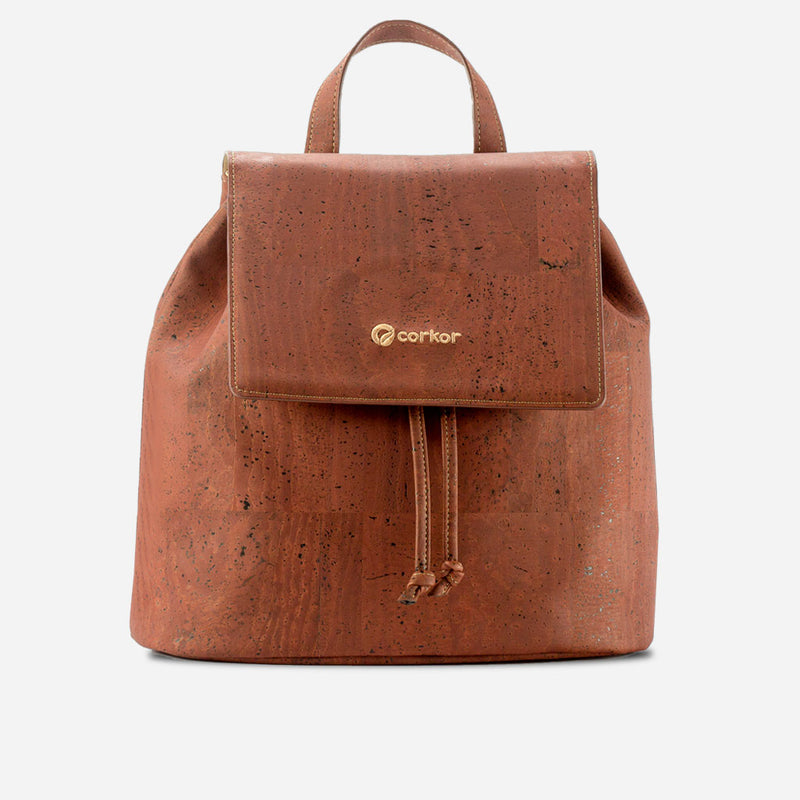 Cork Backpack Red