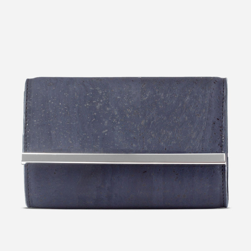 Cork Clutch Blue