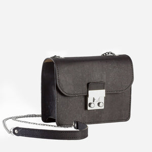 Mini-Bag With Chain Black