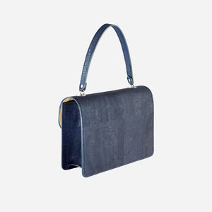 Mini-Bag With Chain Blue