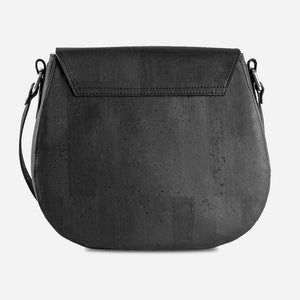 Cork Saddle Bag Black