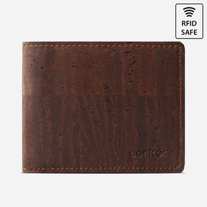 BI-FOLD WALLET Brown