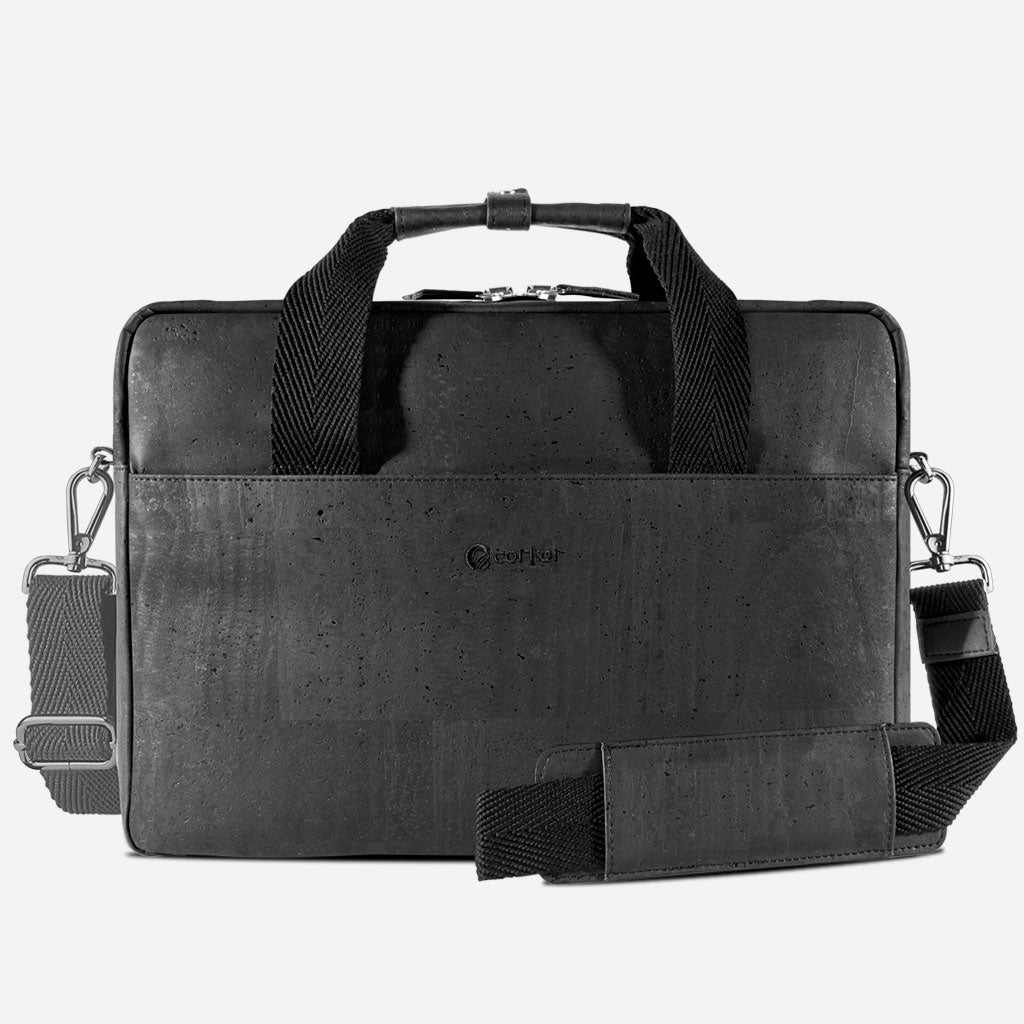 Vegan Briefcase Black