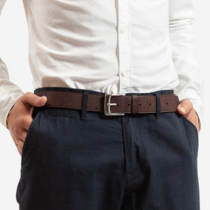 MENS CORK BELT 35MM Brown