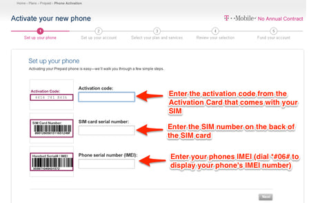 US T-Mobile Prepaid SIM Activation Guide – dataGO